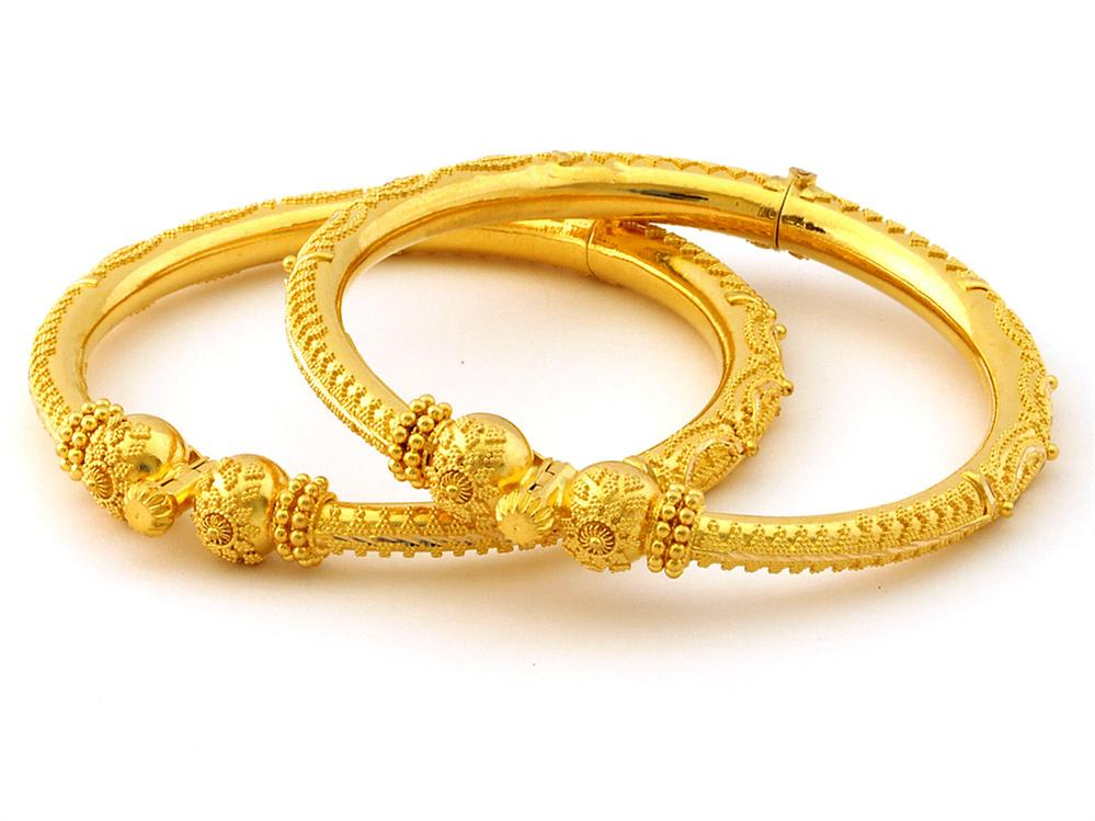 Indian Jewellery and Clothing: Light weight gold and ...