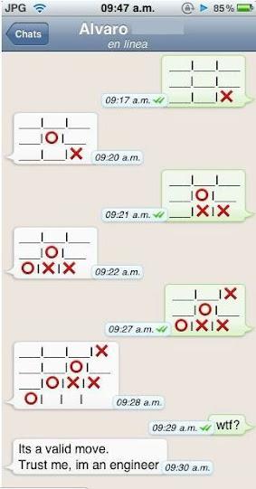 Playing X O