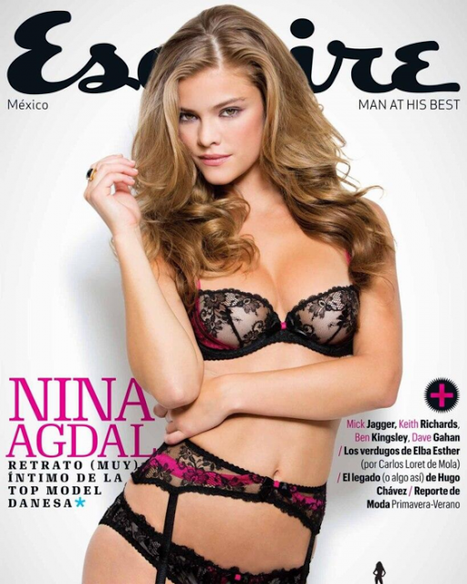 "Nina Agdal"" for Esquire Mexico April 2013 !!"