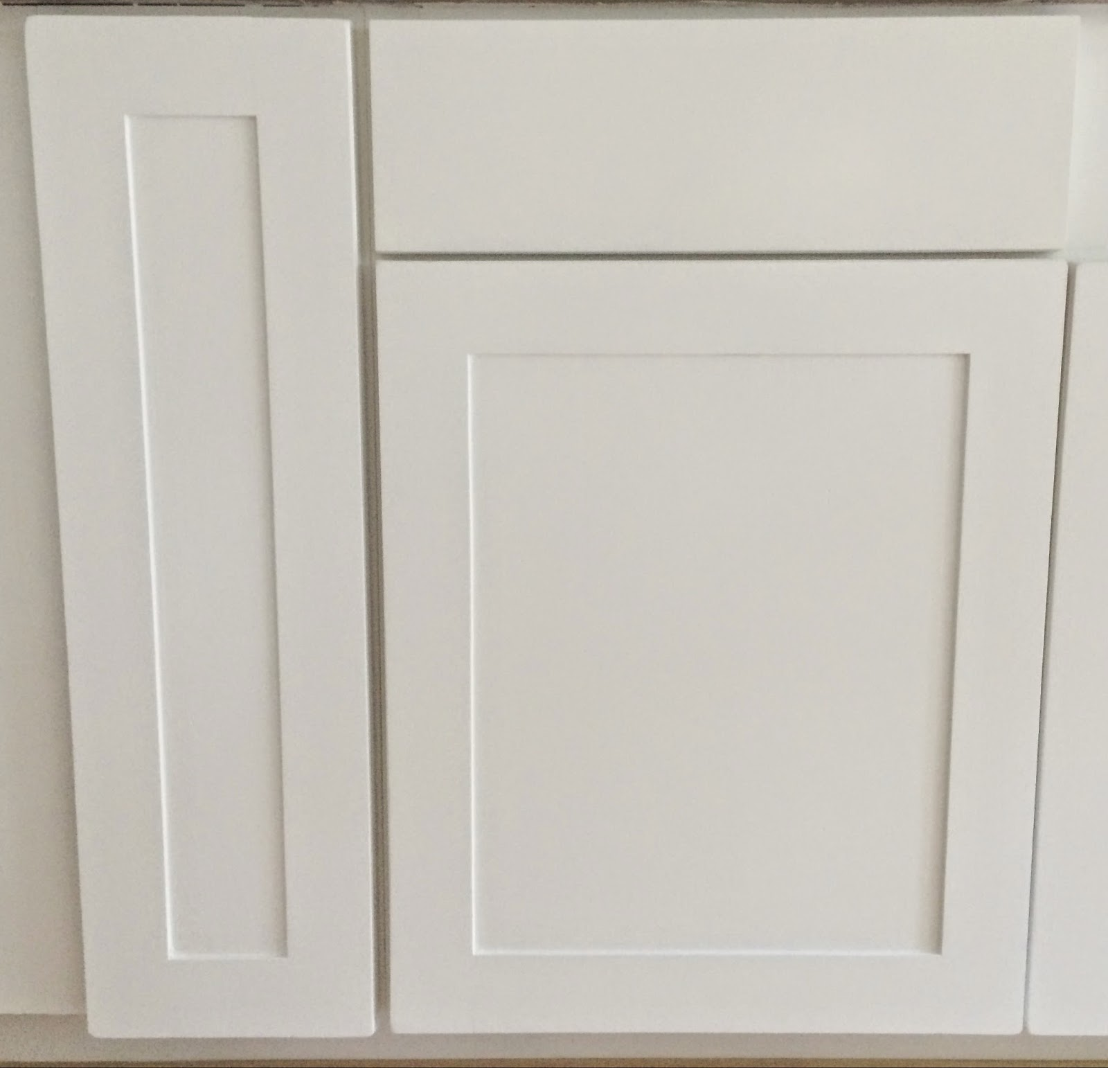 Enter DIY Shaker Doors! We have used this method on our kitchen doors and bathroom doors which you will see in different photos below. & Miss Dixie: DIY Shaker Doors