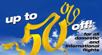 50% off promo from TigerAirways