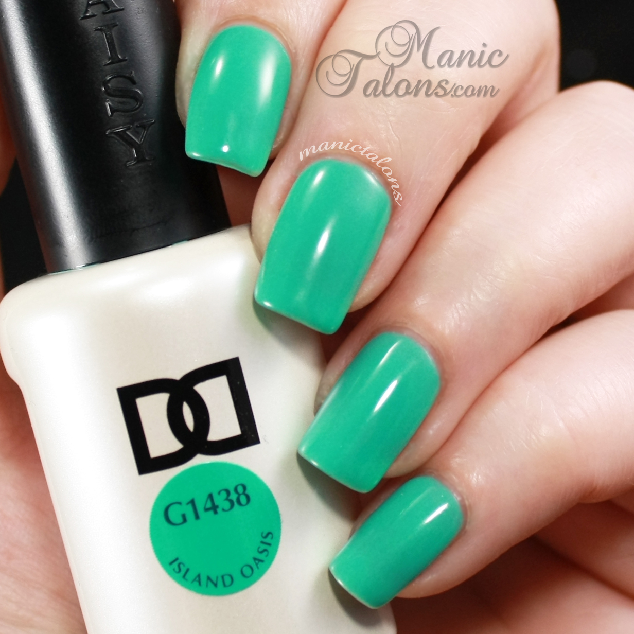 Daisy Duo Gel Polish Island Oasis Swatch