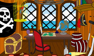 Gathe Escape-Pirates Room