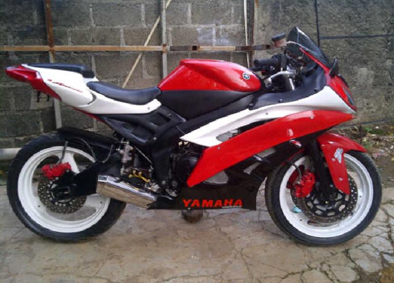 Gambar Modif Motor Yamaha Scorpio Knalpot Racing Modifikasi Keren Terbaru