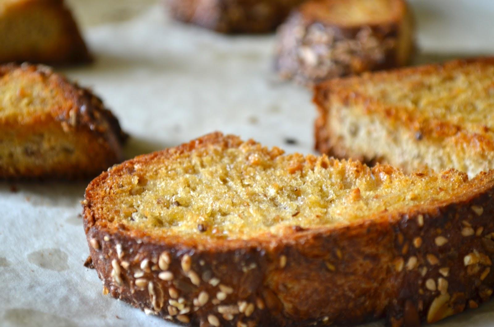 Swordfish bruschetta bread