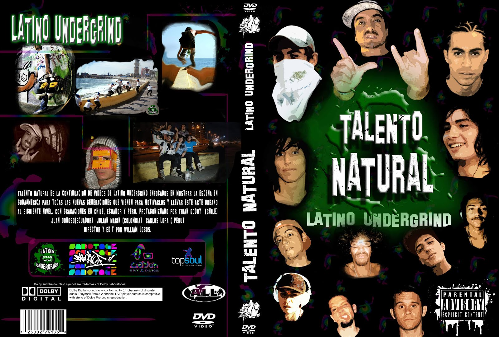 L.U.G. Talento Natural DVD Online 2010