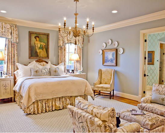 Luxury Romantic Bedroom Design