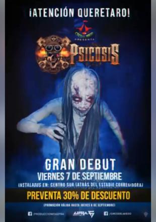 Circo del Miedo en Querétaro