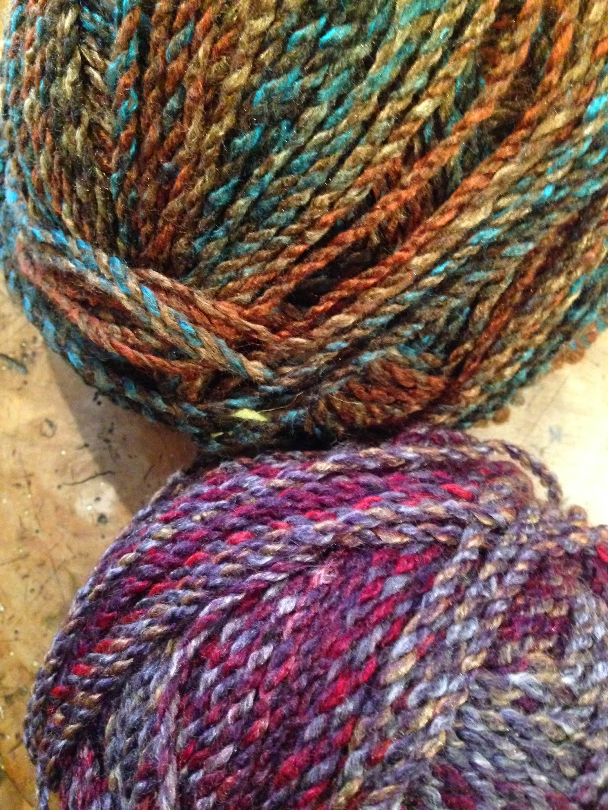 Crocheting Nicknames : working with this lovely new chunky Marble yarn in lots of shades ...