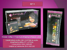 SET REPEAT K ( CAMPURAN 8 KOTAK COFFEE & 7 AURA SHAPING BEAUTY LOTION