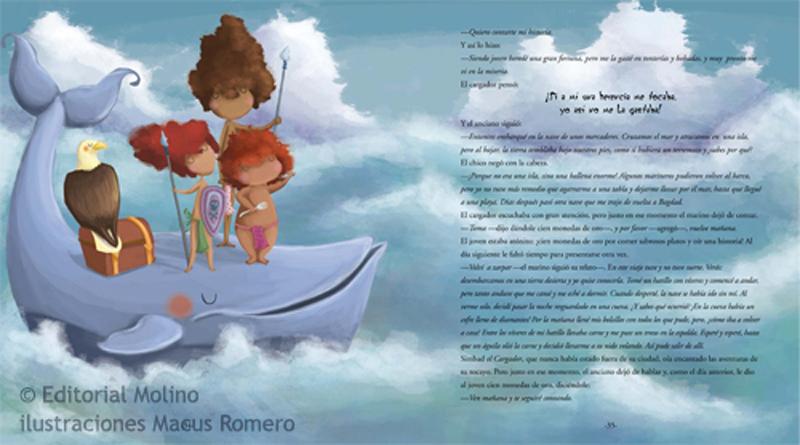 ilustracion infantil cuentos clasicos editorial molino