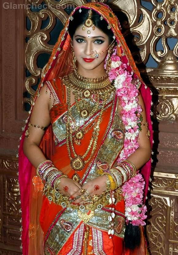 hot decorated hindu woman