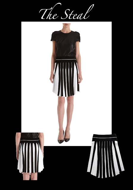 The Steal of the week is Ohne Titel black and white skirt