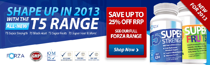 Shape up With Forza | T5 Range | Super Package