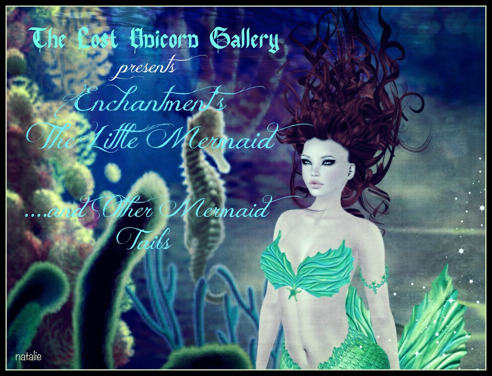 Image gallery mermaid hair - Have You Noticed All The Mermaid Tails Jewelry Clothes Hair And Anything To Do With Mer In Game Yep Second Life Is All About Mermaid Mania Right Now