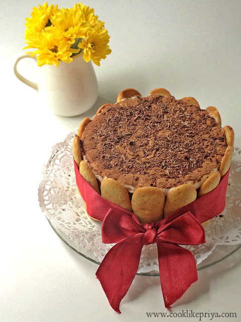 Tiramisu Birthday Cake for Husband Tiramisu layer cake Easy