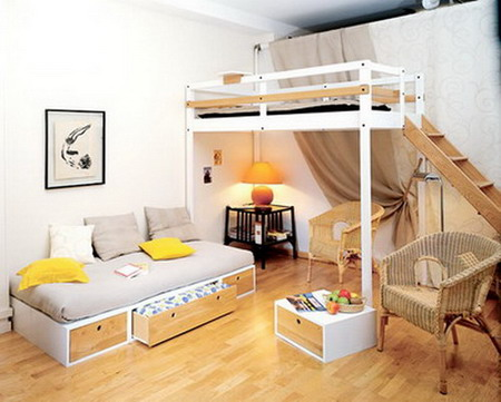 Home designs tricks easy home decorating ideas for small rooms and small spaces - Home design for small place ...