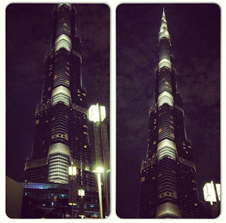 burj Khalifa world's tallest