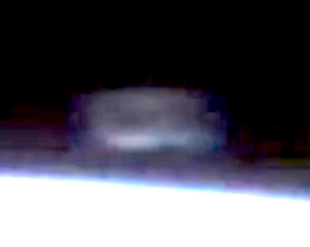 Cloaked UFO Captured Near Space Station 2015, UFO Sightings