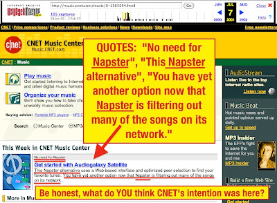 How cnetcbs interactive ignited and fueled the phenomenon of httpwebchiveweb20010623002223httpmusicet music0 1566076 7 4652393ml solutioingenieria Image collections