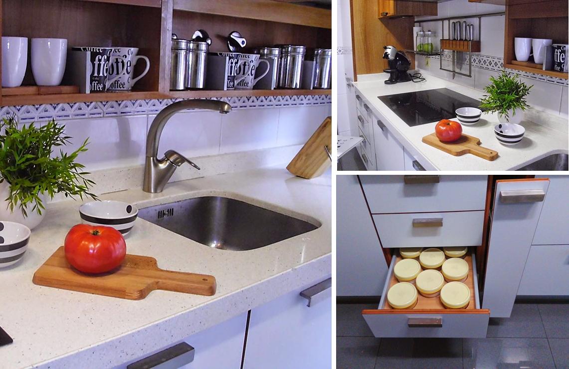 Decoraci n f cil mi cocina en la casa del a o for Como decorar mi cocina integral