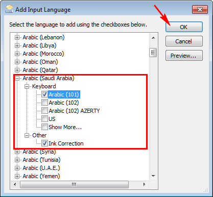 Cara Install Font Keyboard Bahasa Arab di Windows 7 Tanpa CD