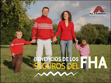 seguros del FHA