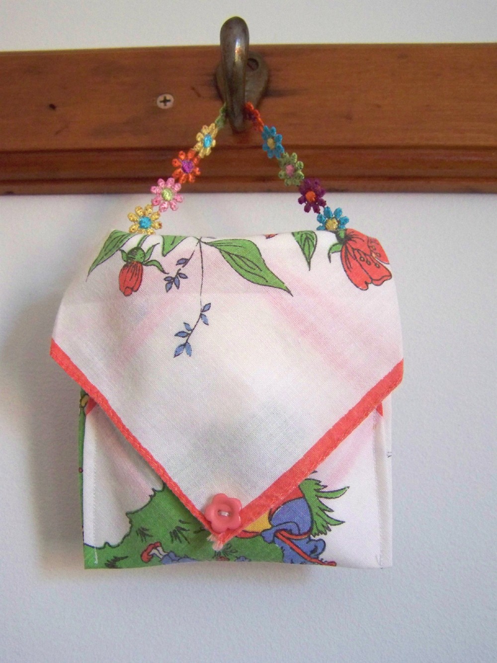 Vintage Handkerchief Craft Projects