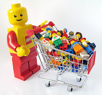 shopping for lego