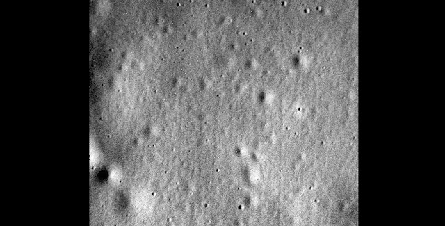 The final image from the MESSENGER spacecraft sent April 30, 2015. Credit: NASA