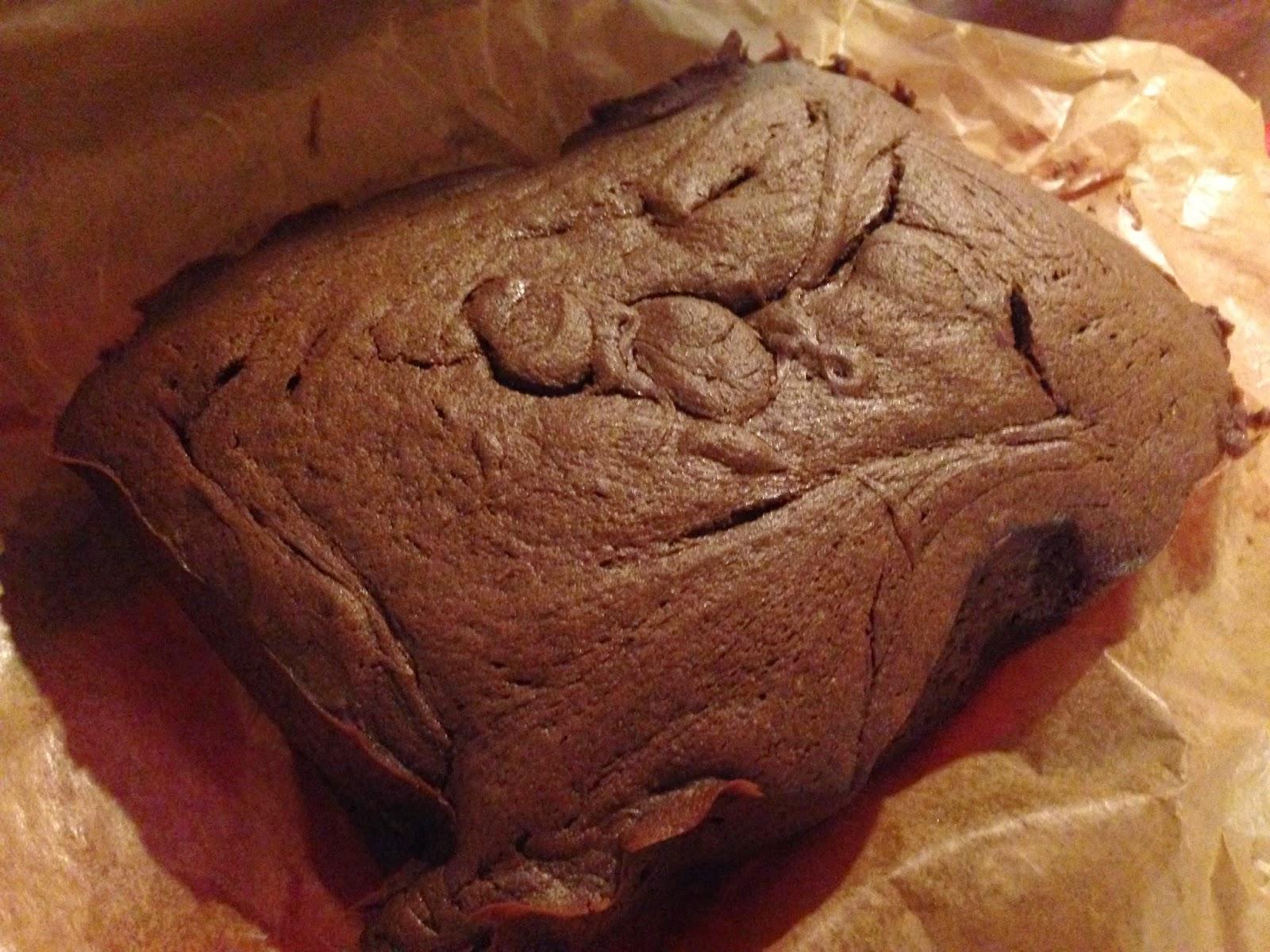 gluten free brownie slab
