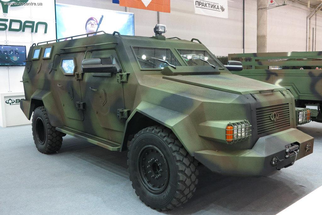Бронеавтомобіль «Барс-8» (перший варіант)