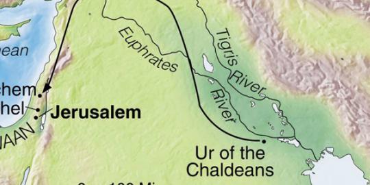 Peneliti berhasil temukan kampung halaman Nabi Ibrahim