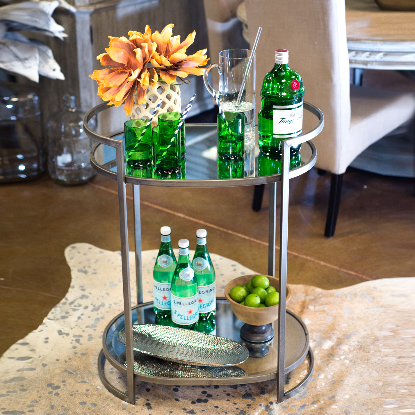 bar cart styling overview