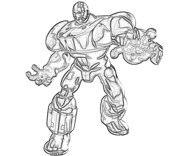printable-marvel-vs-capcom-sentinel-armor_coloring-pages