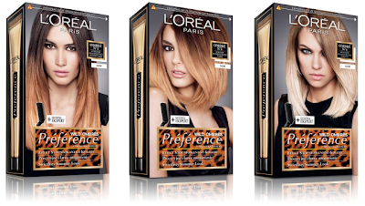 L'Oreal Preference Wild Ombres At Home Ombre Hair
