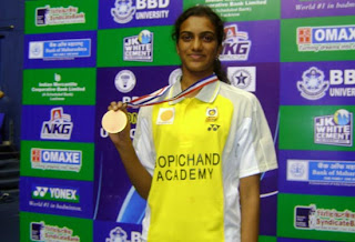 P V Sindhu badminton player