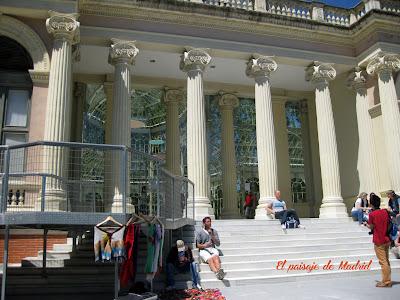 el paisaje de Madrid_el palacio de Cristal del parque del Retiro 5