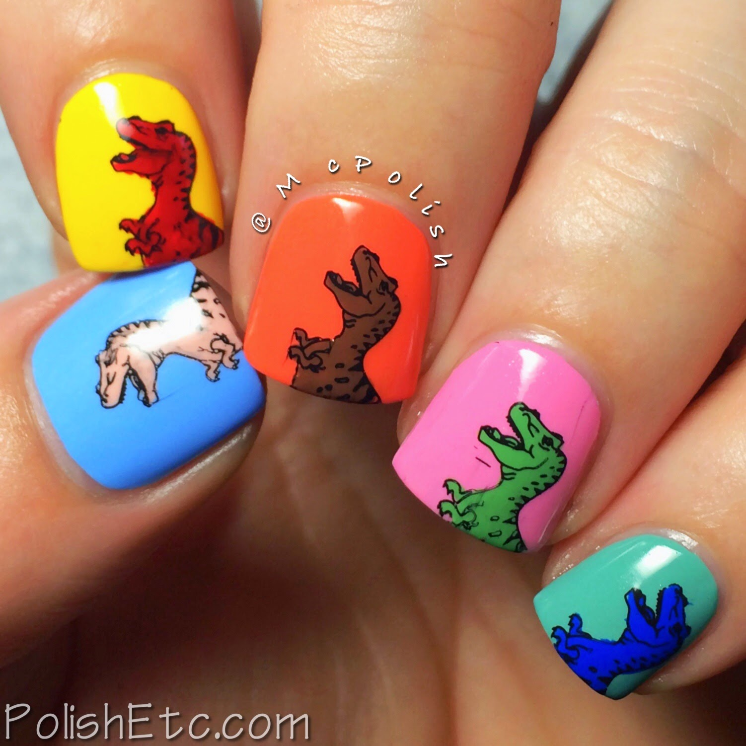 31 Day Nail Art Challenge -#31dc2014 - McPolish - ARTWORK