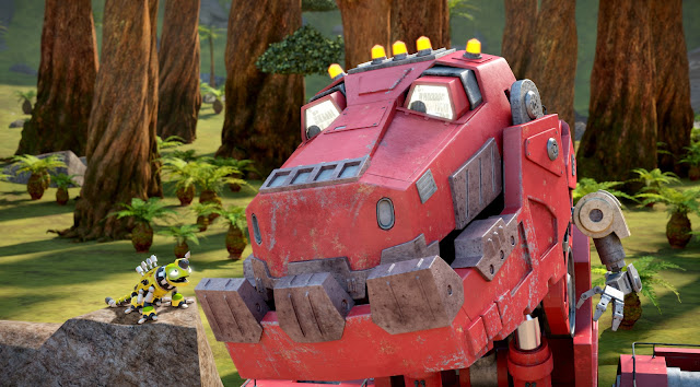 Half dinosaur! Half construction truck! Full-on fun! Watch giant Ty Rux, his little buddy Revvit and the crew come face-to-face with evil D-Structs.