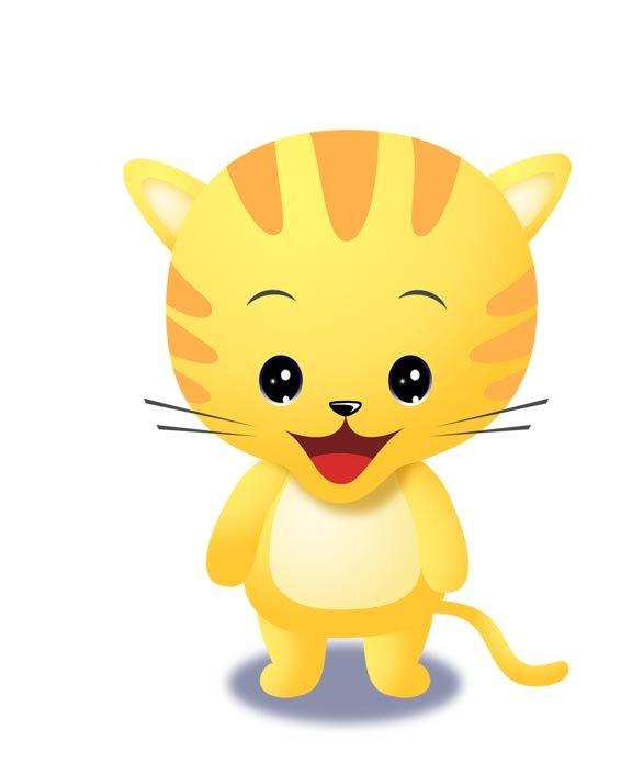 Wallpaper cat cartoon