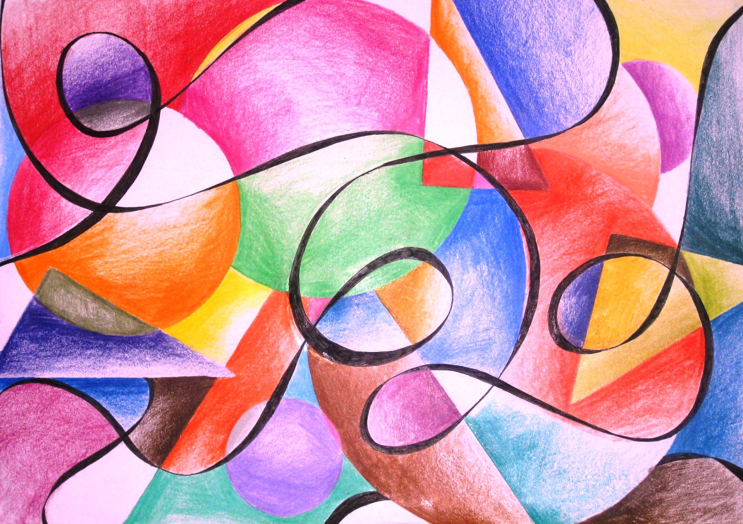 Gallery For gt Color Pencil Art Abstract