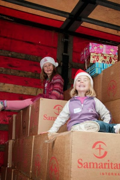 Samaritans Purse operation Christmas Child