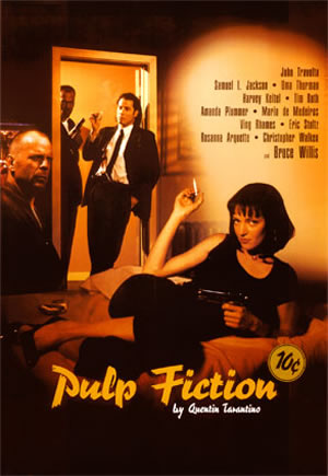 the cynical report movie reflection pulp fiction. Black Bedroom Furniture Sets. Home Design Ideas