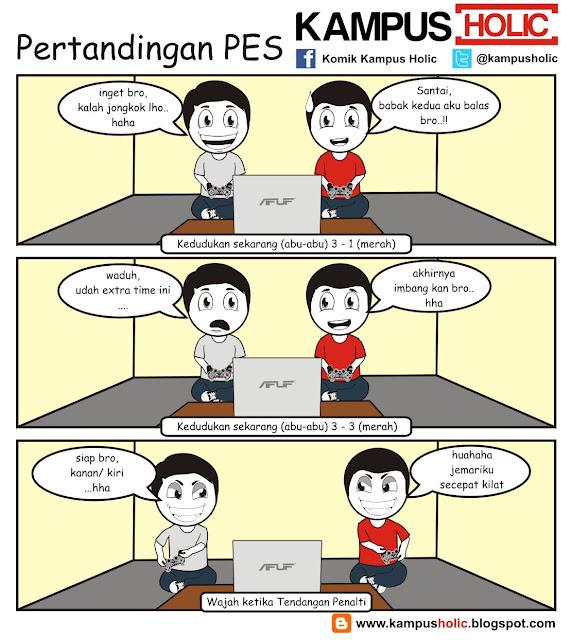 #040 Pertandingan PES ala mahasiswa