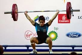 India's first gold in the Commonwealth Sanjita Khumukcham Chanu