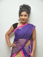 Madhulagna Das Glam pics in Half Saree-cover-photo