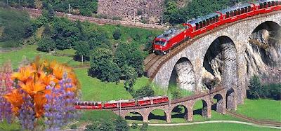 Kereta+Bernina+Express+Swiss