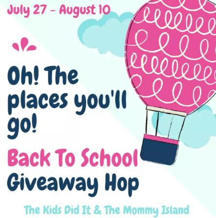 Back to School Hop 7/27 - 8/10