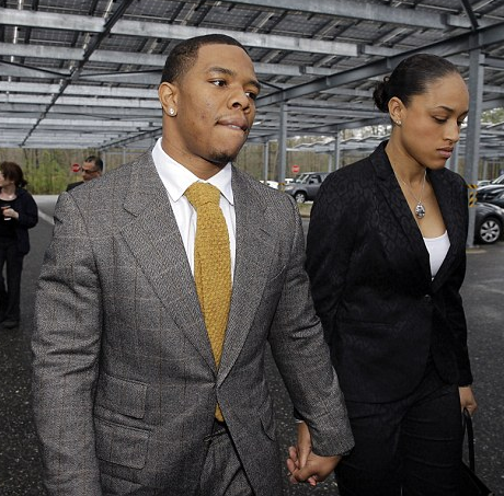Ray Rice & Fiance Got Married after Elevator Knockout